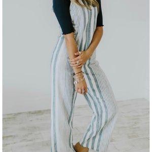 Roolee Striped Jumpsuit